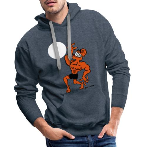 Wolf Man - Men's Premium Hoodie