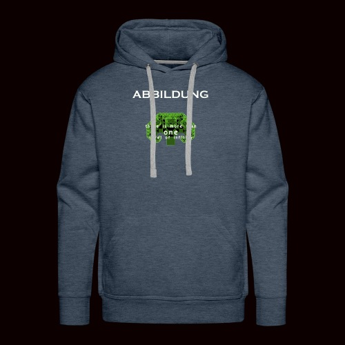ABBILDUNG - There is more... - Mannen Premium hoodie