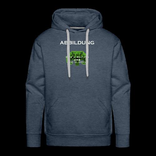 ABBILDUNG - There is more... - Mannen Premium hoodie