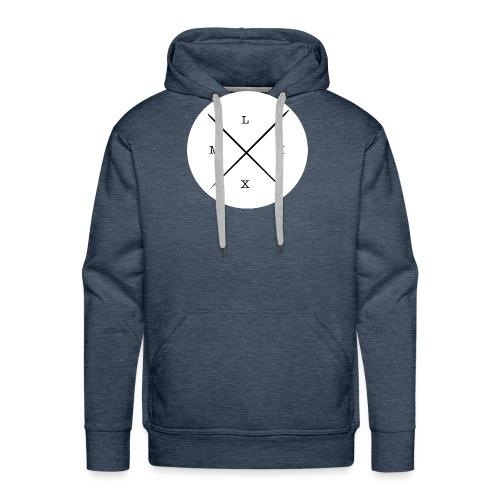 logo_-_copie-page-001 - Sweat-shirt à capuche Premium pour hommes
