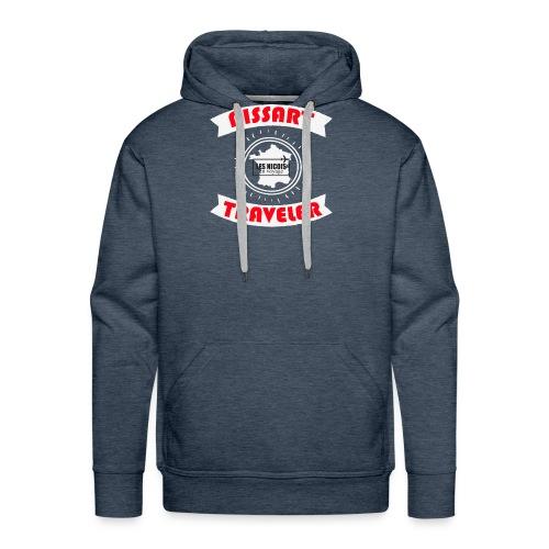 NISSART TRAVELER - Sweat-shirt à capuche Premium pour hommes