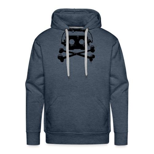 Pirate Cassette - Sweat-shirt à capuche Premium pour hommes