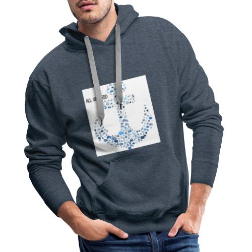 ALL UP STEED - Männer Premium Hoodie