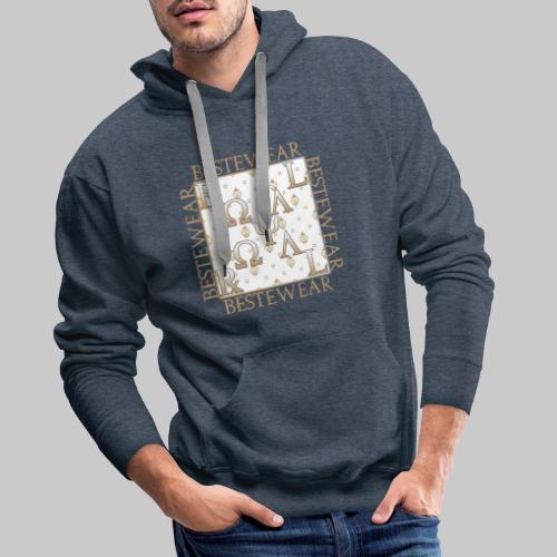 #Bestewear - Royal Line RR - Männer Premium Hoodie