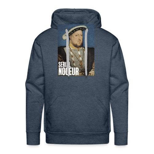 Henri VIII Tudor, un serial noceur - Sweat-shirt à capuche Premium pour hommes