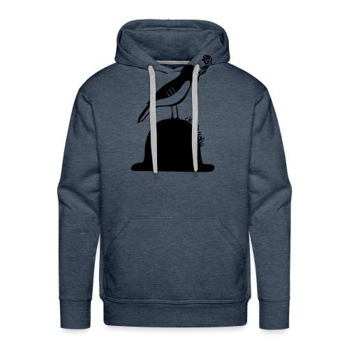 Mélancolie par petitecaillou - Sweat-shirt à capuche Premium pour hommes
