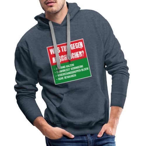 Arschlöcher - Männer Premium Hoodie