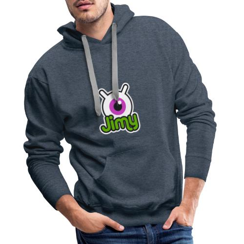 Jimy Label (Color) - Sweat-shirt à capuche Premium pour hommes