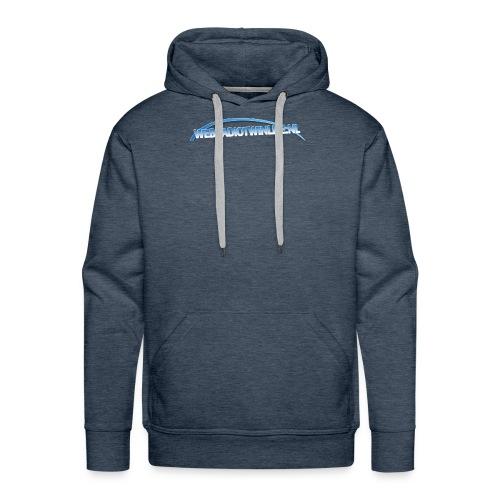 Boog Groot - Mannen Premium hoodie