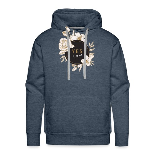 YES I DO #2 - Sweat-shirt à capuche Premium pour hommes