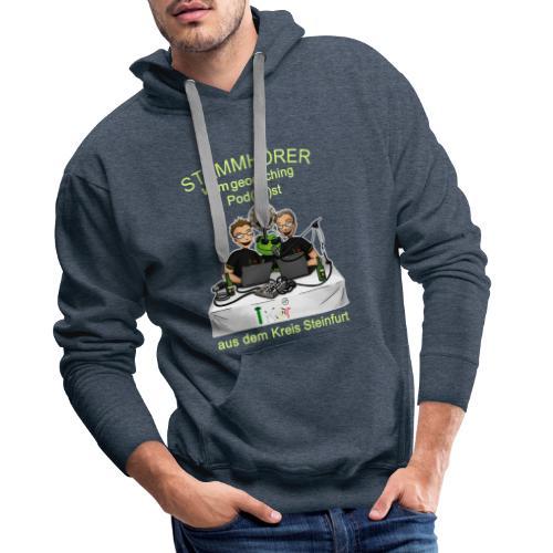 Stammhörer-Shirt - Männer Premium Hoodie