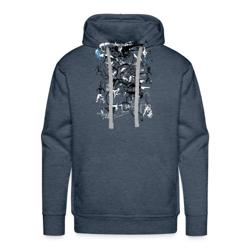 art of shaolin - Men's Premium Hoodie