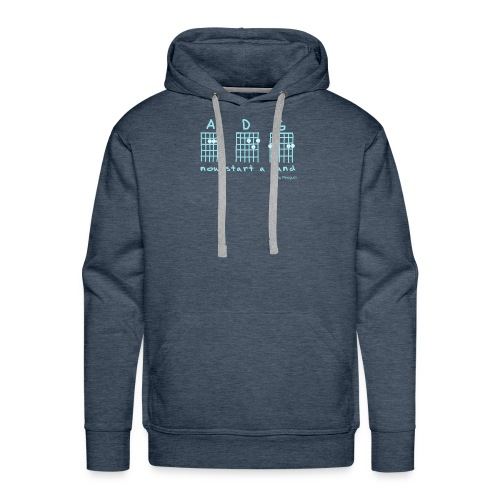 Now Start A Band - Männer Premium Hoodie