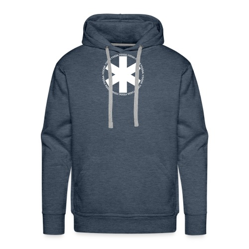 yogga_2 - Sweat-shirt à capuche Premium pour hommes