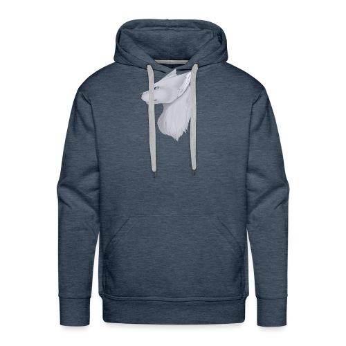 Wolf Bib - Men's Premium Hoodie