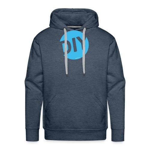 DIY Helden blau - Männer Premium Hoodie
