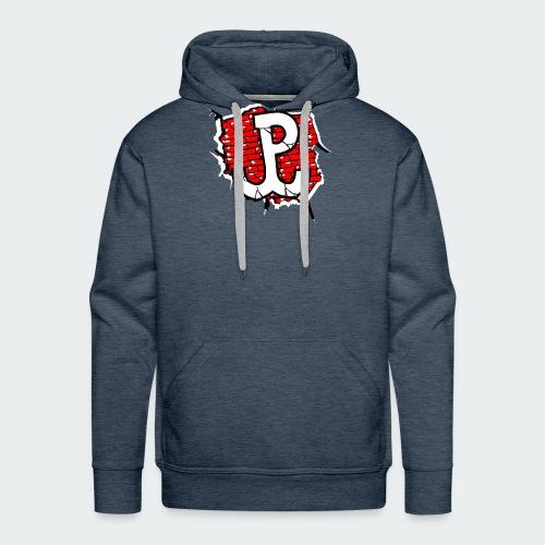 Męska Koszulka Patriotyczna Premium - Bluza męska Premium z kapturem