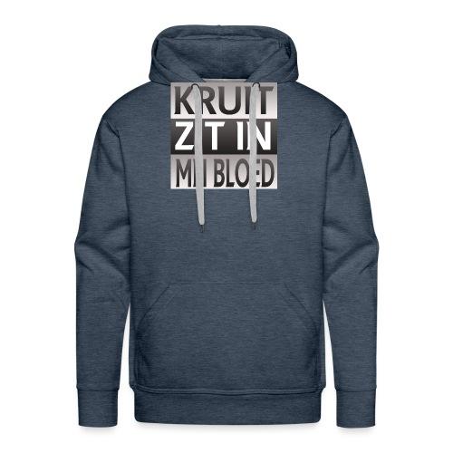 kruit_zit_in_mn_bloed - Mannen Premium hoodie
