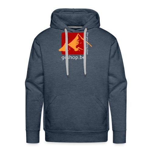 logo-big - Mannen Premium hoodie