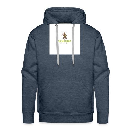 Victor Duruy 2 - Sweat-shirt à capuche Premium pour hommes