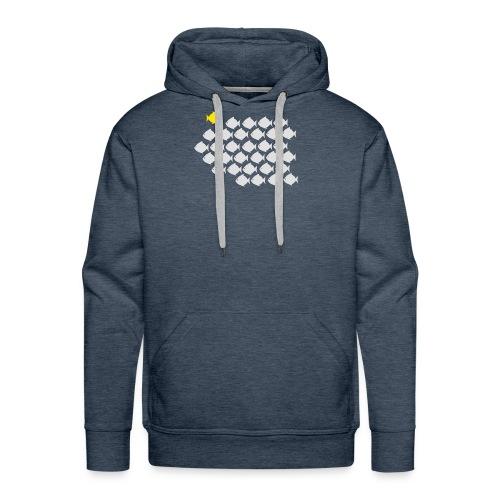 Verandervis - durf anders te zijn - Mannen Premium hoodie