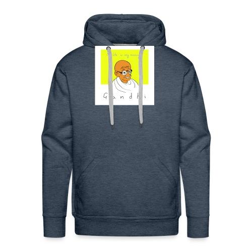 Gandhi - Männer Premium Hoodie