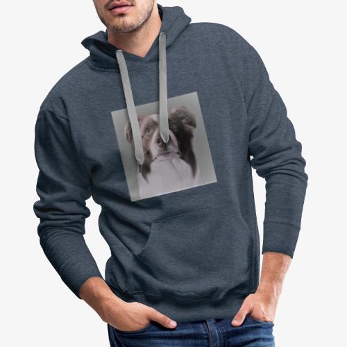 collie rush - Mannen Premium hoodie