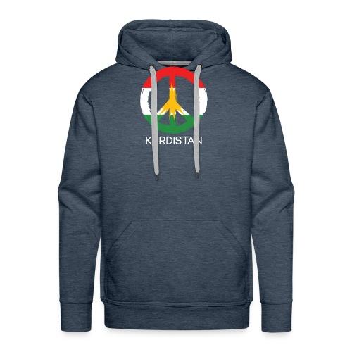 Kurdistan peace - Mannen Premium hoodie