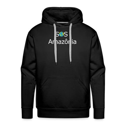 SOS the Amazon forest SAVE THE AMAZONAS - Sweat-shirt à capuche Premium pour hommes