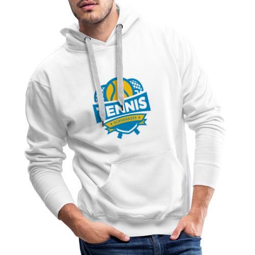 Svanny Logo - Felpa con cappuccio premium da uomo