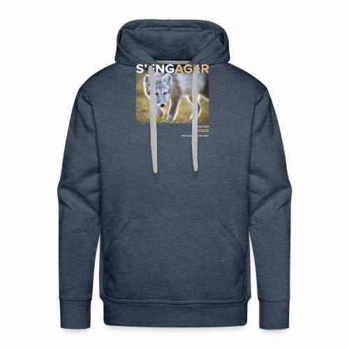 1 Achat = 1 Don à l'association Greenland Trees - Sweat-shirt à capuche Premium pour hommes