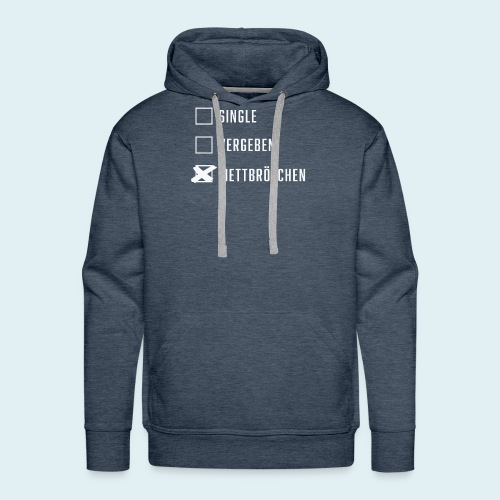 Single Vergeben Mettbrötchen - Männer Premium Hoodie