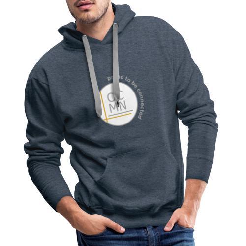 OCMN proud te be connected - Mannen Premium hoodie