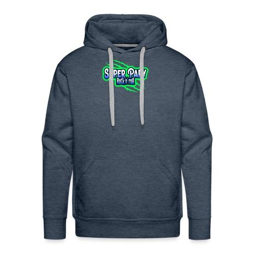 super papy - Sweat-shirt à capuche Premium pour hommes