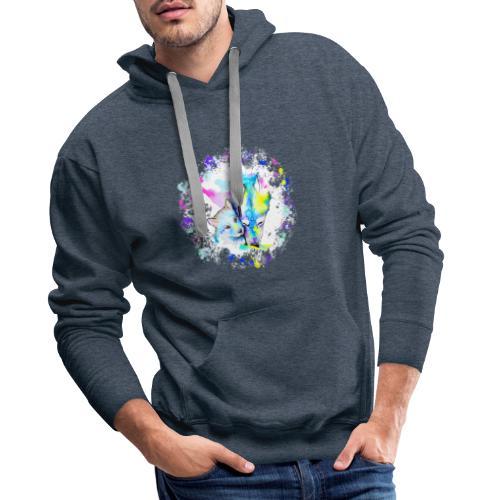 Loups - Sweat-shirt à capuche Premium pour hommes