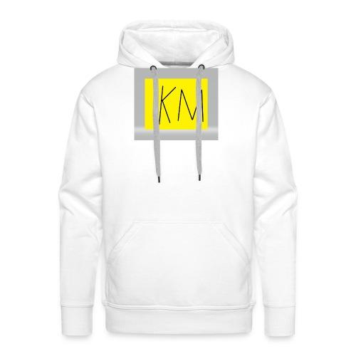 KM logo kleding - Mannen Premium hoodie