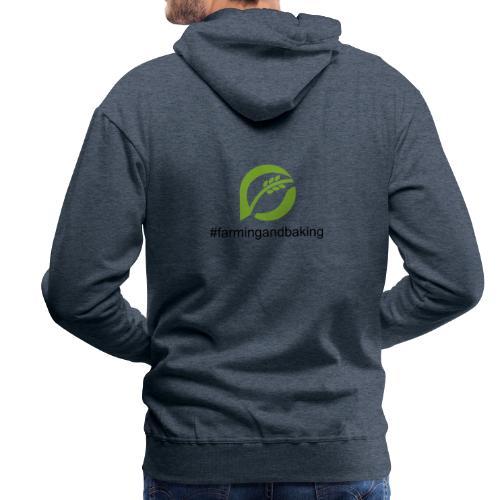farmingandbaking_logogruen - Männer Premium Hoodie
