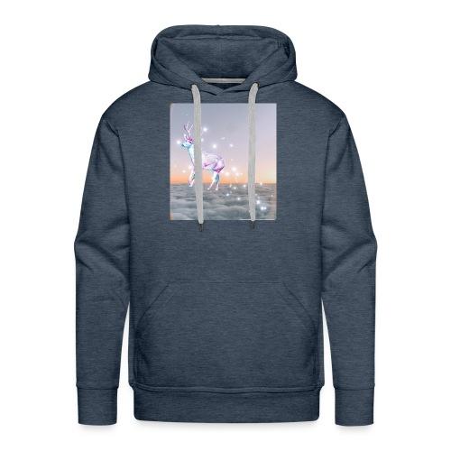 magiczny jelonek - Bluza męska Premium z kapturem