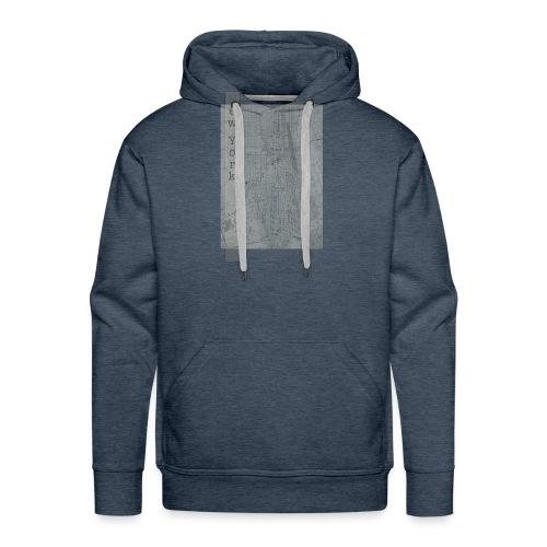 New York - Bluza męska Premium z kapturem