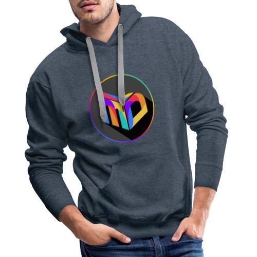 New MDL Logo - Männer Premium Hoodie