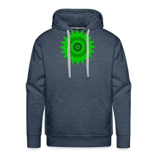 Grüne Sonne - Männer Premium Hoodie