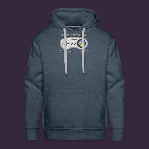 Super retrogames entertainment system - Sweat-shirt à capuche Premium pour hommes