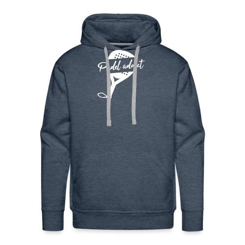 Padel Addict - Sweat-shirt à capuche Premium pour hommes