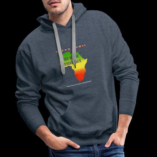 JULES BENJI & MUSIC RESISTANCE africa design - Men's Premium Hoodie