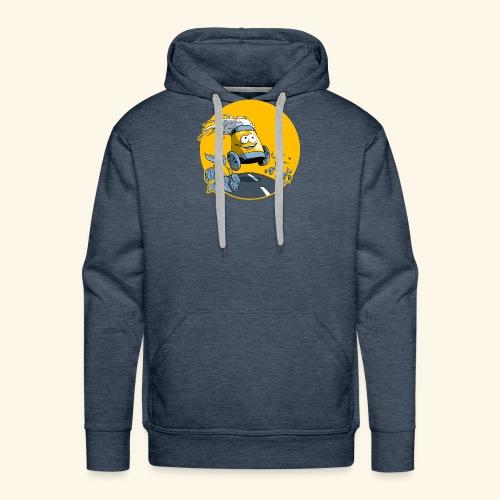 Bière en vadrouille - Sweat-shirt à capuche Premium pour hommes