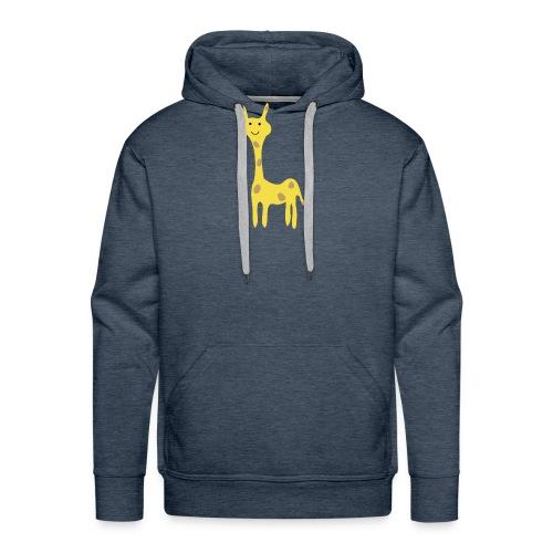 Kinder Comic - Giraffe - Männer Premium Hoodie