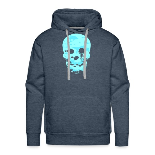 Totenkopf Ozean Meer - Männer Premium Hoodie
