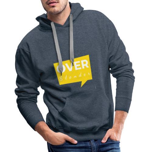 Trop Over Slender - Sweat-shirt à capuche Premium pour hommes