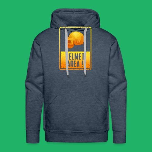 helmet area - Männer Premium Hoodie