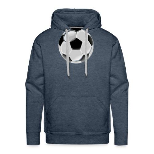 footballon - Sweat-shirt à capuche Premium pour hommes